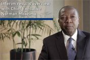 CEO interview for interim results presentation